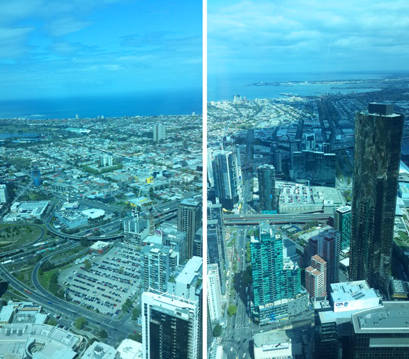 Melbourne from Eureka Skydeck