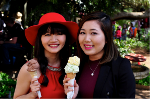 Ice Cream at Tulips